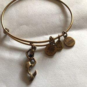 Alex and Ani Mermaid Energy Charm Bracelet NEW